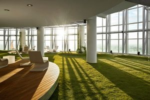 artificial office grass