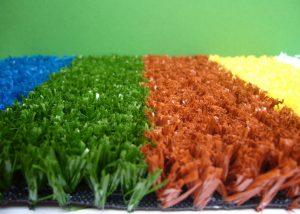 artificial colored grass