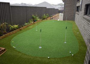 golf artificial grass for putting green
