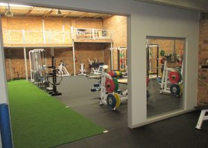 Gym artificial grass