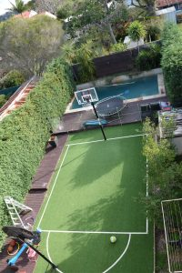 synthetic grass for tennis court